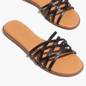 NWOB Madewell Tracie Crisscross Leather Sandals